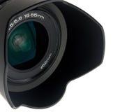 Camera lens. Isolated on white background Stock Image