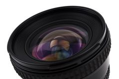 Camera Lens. Closeup image of a camera lens royalty free stock image