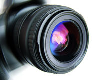 Camera lens. A photo of a Camera lens Stock Images