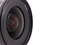 Camera lens. For slr camera with reflections royalty free stock image