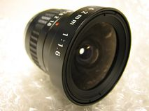 Camera Lens. Only Royalty Free Stock Images