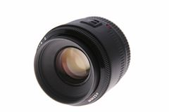 Camera Lens. Isolated over a white background royalty free stock images