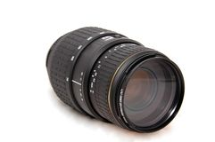 Camera Lens 70-300mm Stock Images