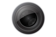 Camera Lens. Detailed illustration of camera lens Stock Photos