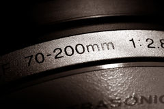 Camera lens Royalty Free Stock Photography