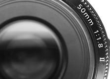 Camera lens. Close up of camera lens Royalty Free Stock Photo