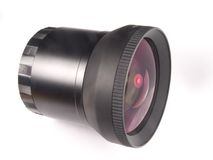 Camera Lens. Closeup Stock Photo