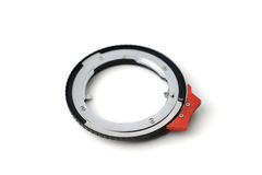Camera lens adapter Stock Photography