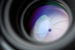 Camera lens background Royalty Free Stock Photos