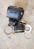 Camera lens broken Stock Photos