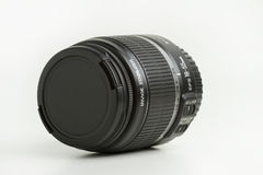 Camera Lens With Cap Stock Image