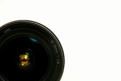 Camera lens close up Royalty Free Stock Images