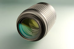 Camera lens closeup Royalty Free Stock Images