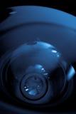 Camera lens closeup. Wide angle Camera lens closeup Stock Image