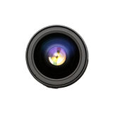 Camera lens front sight. Stock Photography