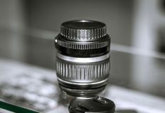 The camera lens Stock Photo