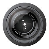 Camera Lens Icon Stock Photography