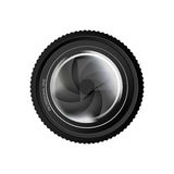 Camera lens icon image Stock Photography