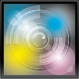 Camera Lens Icon Stock Photo