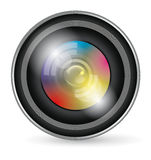 Camera Lens Icon Royalty Free Stock Image