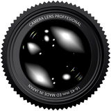 Camera lens  illustration Stock Images