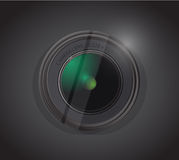 Camera lens illustration design Stock Images