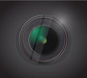 Camera lens illustration design Stock Images