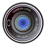 Camera lens. Illustration of an old lens from the camera. Eps format is available Royalty Free Stock Image