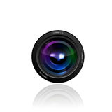 Camera Lens illustration Stock Image