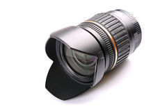 Camera lens isolated Royalty Free Stock Photos