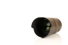 Camera lens macro Stock Image