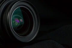 Camera lens optic Stock Photography