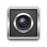 Camera lens. Royalty Free Stock Photography