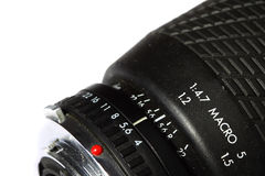 Camera lens vintage A Royalty Free Stock Photos