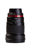 Camera lens on white background Royalty Free Stock Images
