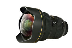 Camera lens. A wide angle camera lens Stock Photos
