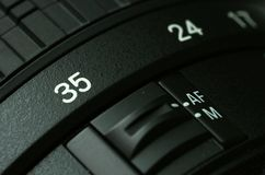 Camera lense. Stock Photography