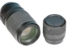 Camera lense Stock Image