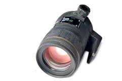 Camera lense. Isolated on white background Stock Photo