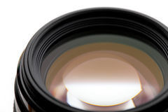 Camera lense close up Royalty Free Stock Photo