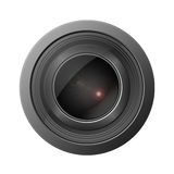 Camera lense Stock Images