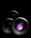Camera lenses Royalty Free Stock Photos