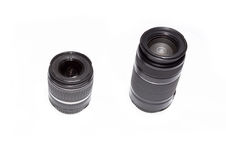 Camera Lenses Stock Photo