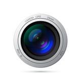 Camera lenss. Camera lens vector icon illustration. EPS10 Stock Photography