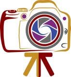 Camera logo Royalty Free Stock Photo