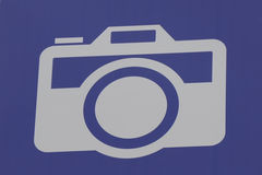 Camera Logo. A photography logo of a camera Royalty Free Stock Image