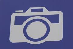 Camera Logo. A photography logo of a camera royalty free stock image