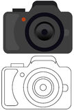 Camera logo Stock Images