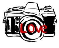 Camera love Royalty Free Stock Photography