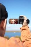Camera man royalty free stock photography